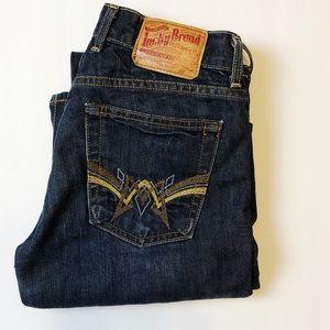 Lucky Brand Retro Sundown Straight Jeans SZ 6/28